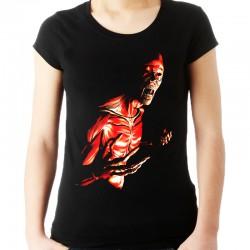 koszulka damska z zombie