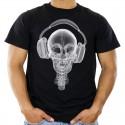 Koszulka z czaszką dj x-ray