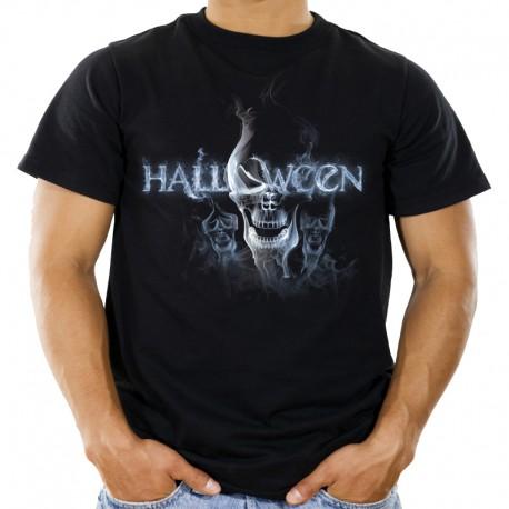 Koszulka na Halloween z czaszką z napisem sklep warszawa