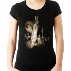 Koszulka z cmentarzem