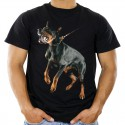 Koszulka z Dobermanem