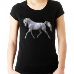 Koszulka z nadrukiem konia