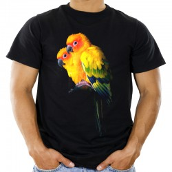 Koszulka z papugami