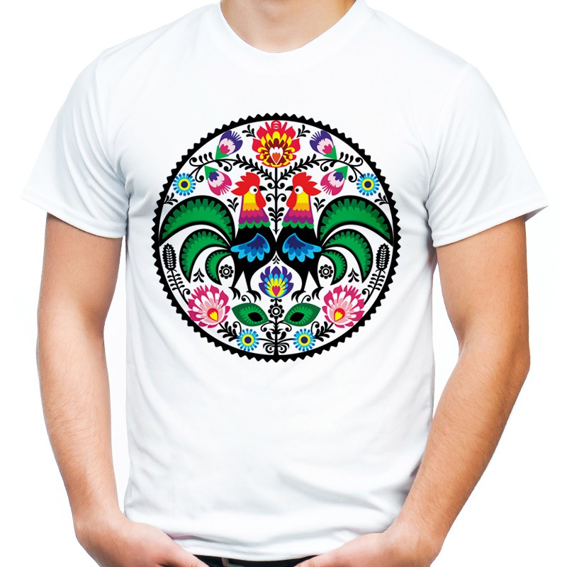 36c926729 Koszulka folkowa męska - Sklep Miromiko