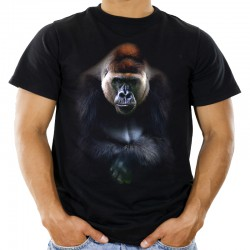 Koszulka męska z gorylem