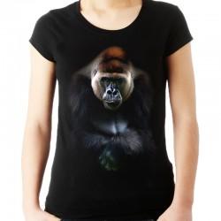 Koszulka damska z gorylem