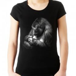 Bluzka z małpą