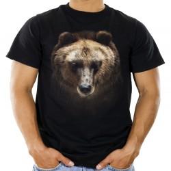 Koszulka męska z niedźwiedziem
