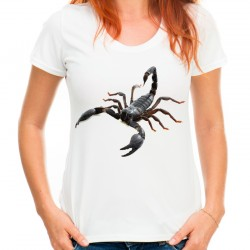 Koszulka ze skorpionem damska