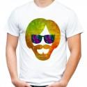 Koszulka oldschoolowa brodacz w okularach