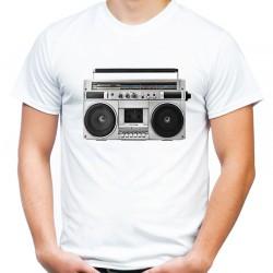 Koszulka z magnetofonem oldskulowa