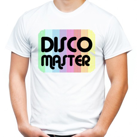 Koszulka disco master oldschoolowa