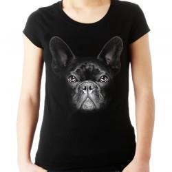 koszulka z psem Buldogiem Francuskim