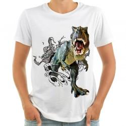 Koszulka 3d z dinozaurem T-REX