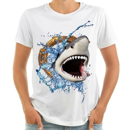Koszulka z rekinem 3D