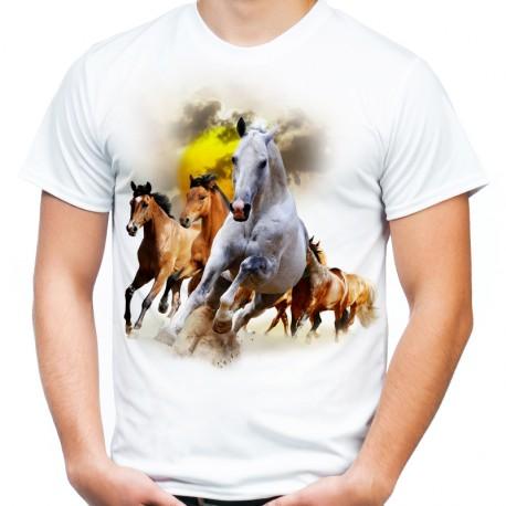 Koszulka w konie