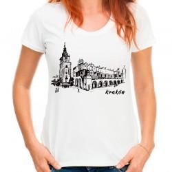 t-shirt z Krakowem
