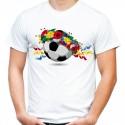 Koszulka z piłką folk