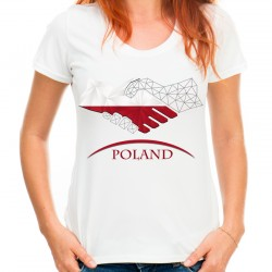 Koszulka z napisem Poland