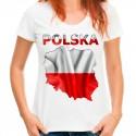 Koszulka z mapą Polski