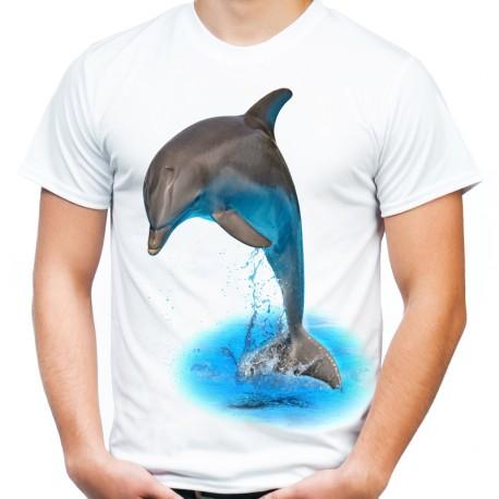 Koszulka z delfinem