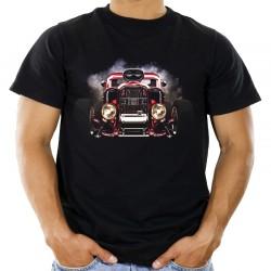 Koszulka hot road z autem