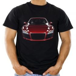 Koszulka z samochodem sportowym