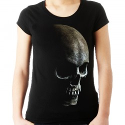 Koszulka damska z czaszką