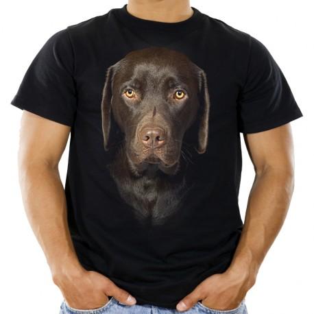Koszulka z Labradorem Czekoladowym