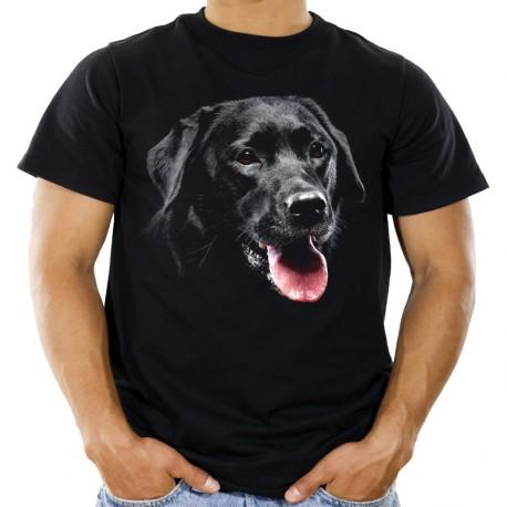 Koszulka z Labradorem Czarnym