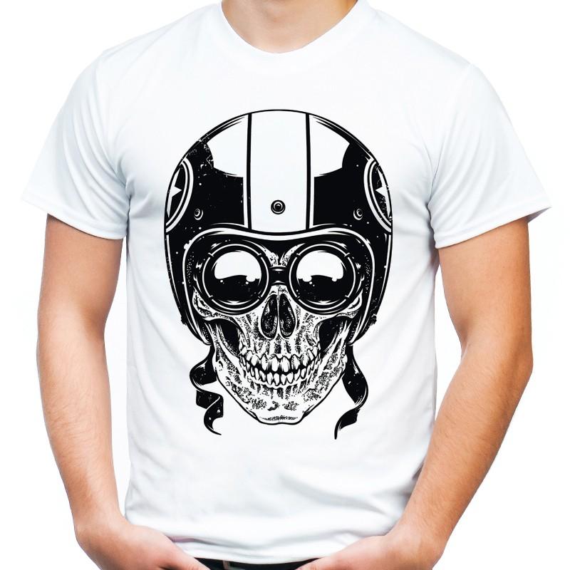 76ef77403 Koszulka z czaszką w kasku - Sklep Miromiko