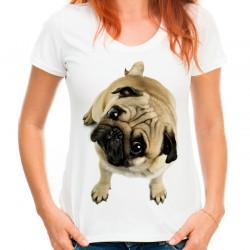 Koszulka z mopsem