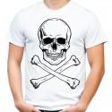 Koszulka z czaszką i piszczelami