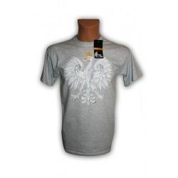 Koszulka męska szara z orłem Eagle Style
