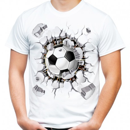 Koszulka z piłką 3D dla kibica
