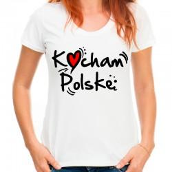 Koszulka Kocham Polskę