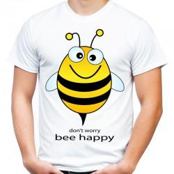 Koszulka z pszczołą dont worry be happy