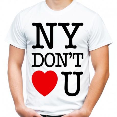 Koszulka NY dont love you