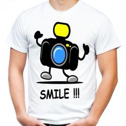 Koszulka dla fotografa smile