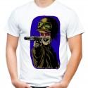Koszulka Zombie z pistoletem