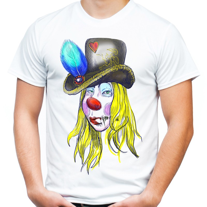 5e7460df12c385 Koszulka kobieta klaun - Sklep Miromiko
