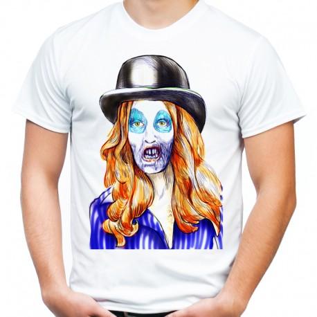 Koszulka z Zombie kobietą