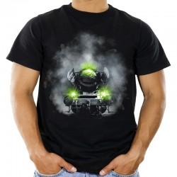 Koszulka z lokomotywą