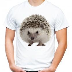 Koszulka męska z jeżem