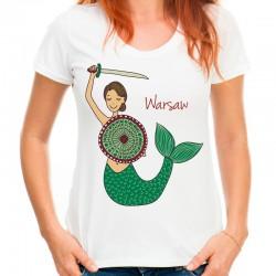 koszulka z Warszawską Syrenką
