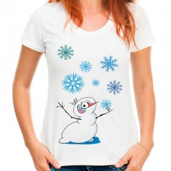 Koszulka z bałwanem