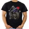 Koszulka z motorem