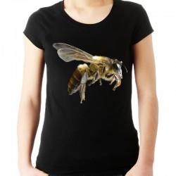Koszulka damska z pszczołą