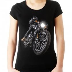Koszulka damska z motorem