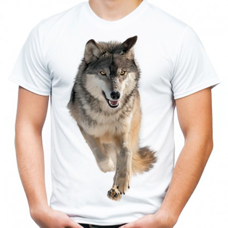 Koszulka z wilkiem szarym